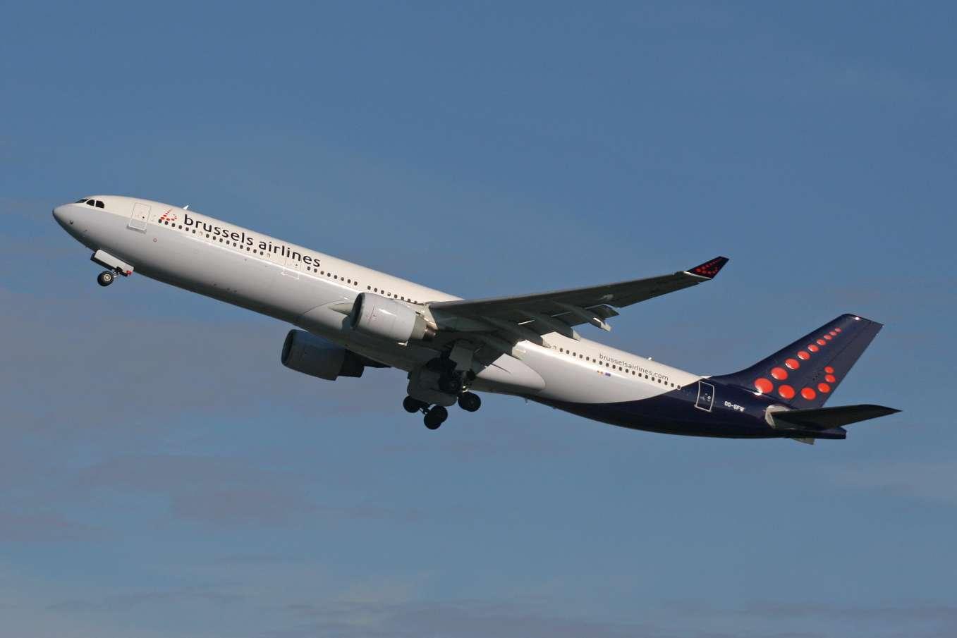 Hausse de 3,2% du trafic de Brussels Airlines en 2016
