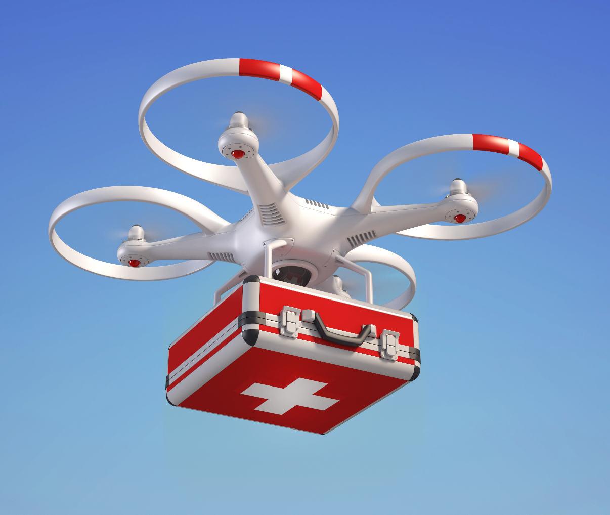 Bientôt des transports médicaux par drones en Belgique