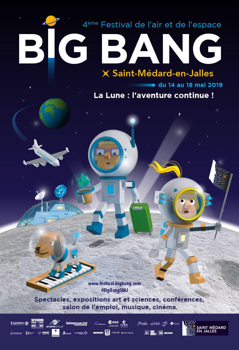 Les plus grands spécialistes de l'aéronautique et du spatial réunis autour de la Lune au festival BIG BANG