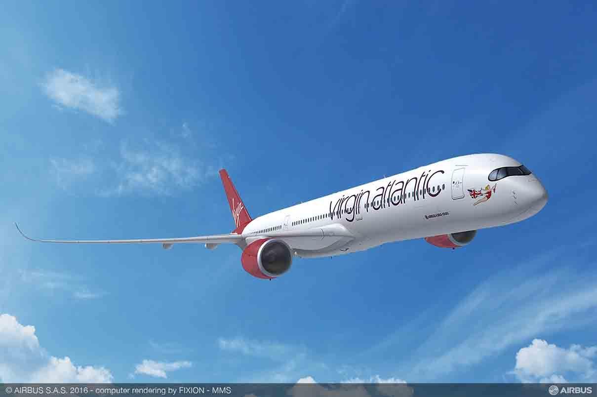 Farnborough 2016 : Virgin Atlantic passe à son tour à l'Airbus A350-1000