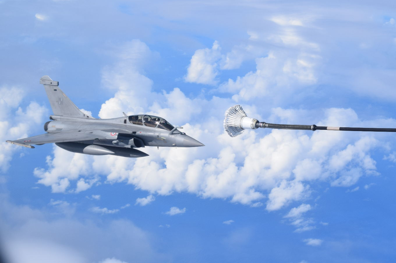 Dissuasion : Exercice de tir de missile ASMPA par les FAS