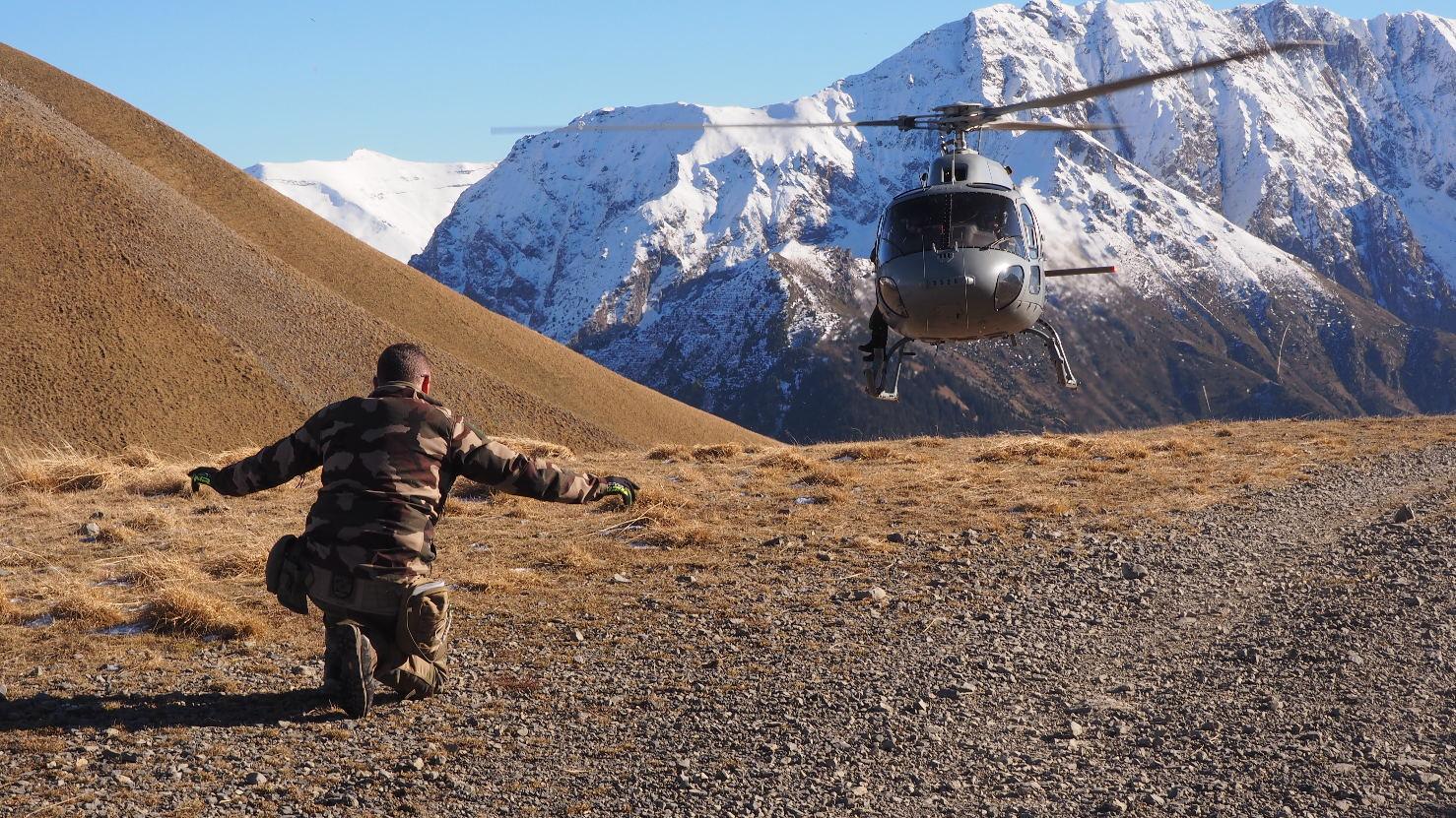 CASALPS : Entraînement à l'appui aérien en Montagne