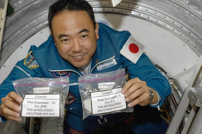 Dosis 3D: cartographier les radiations à bord de l'ISS