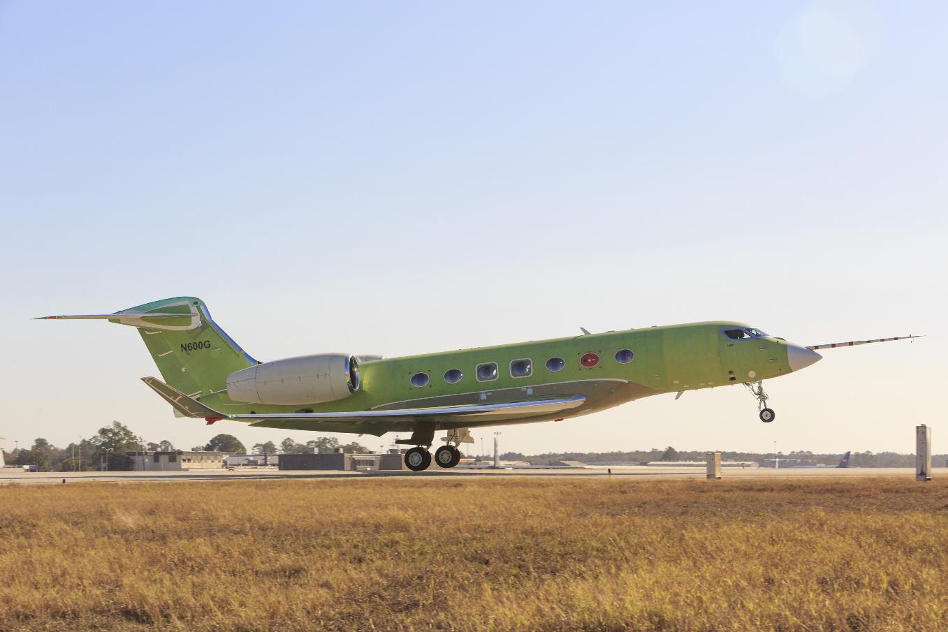 Premier vol du Gulfstream G600