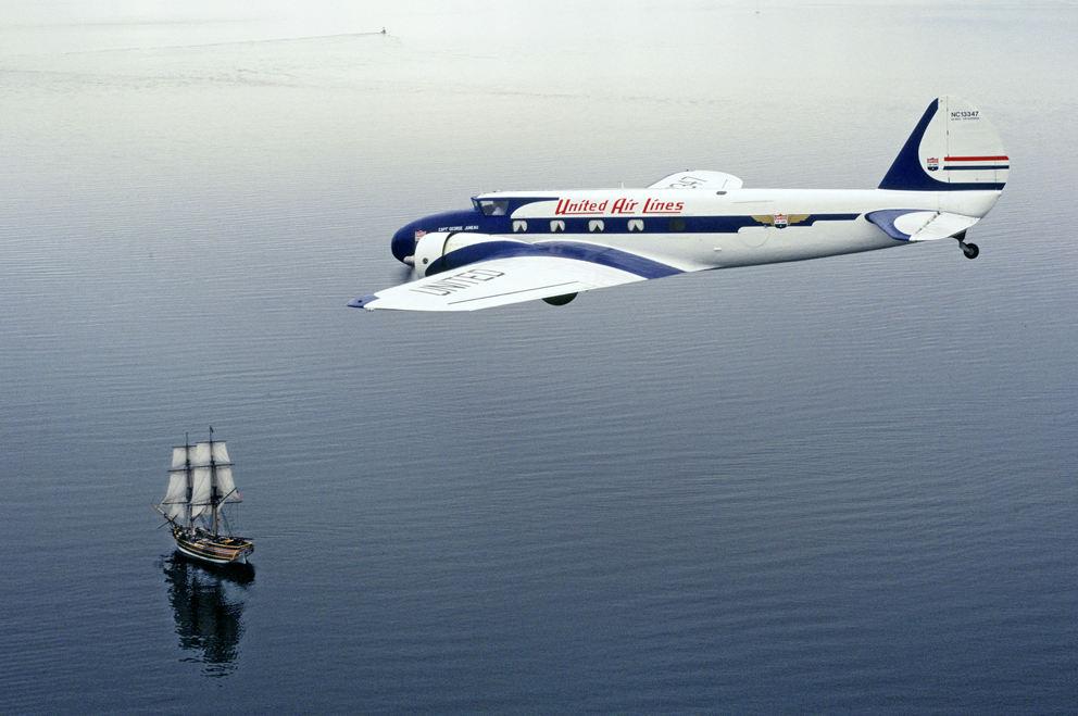 100 ans de Boeing : le révolutionnaire Boeing 247
