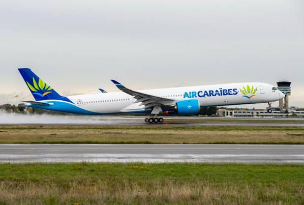 Premier Airbus A350-1000 pour Air Caraïbes