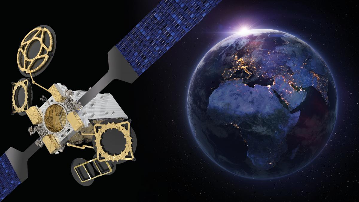Eutelsat commande un nouveau satellite à Thales Alenia Space