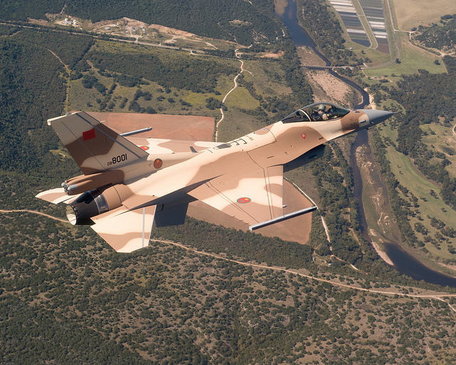 Des F-16 supplémentaires pour le Maroc