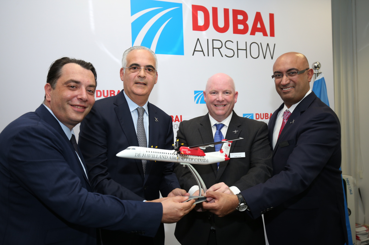 Dubai Airshow 2019 : Palma Holding Limited s'engage sur 20 Dash 8-400