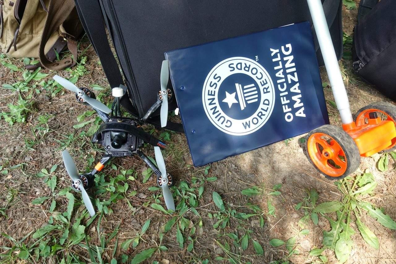 Le Racer X devient le drone le plus rapide