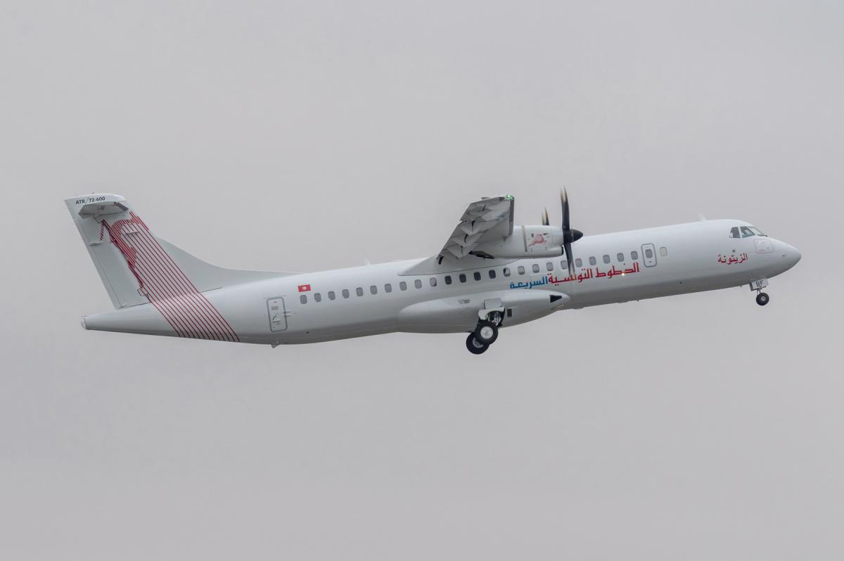 Premier ATR 72-600 pour Tunisair Express