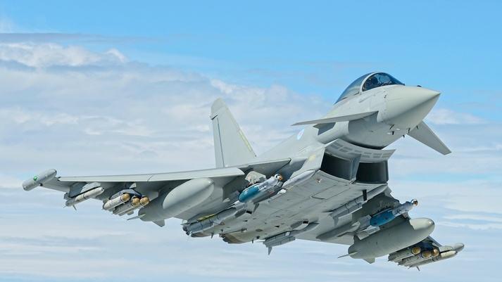 L'Eurofighter réussi le premier tir en conditions réelles du missile Brimstone