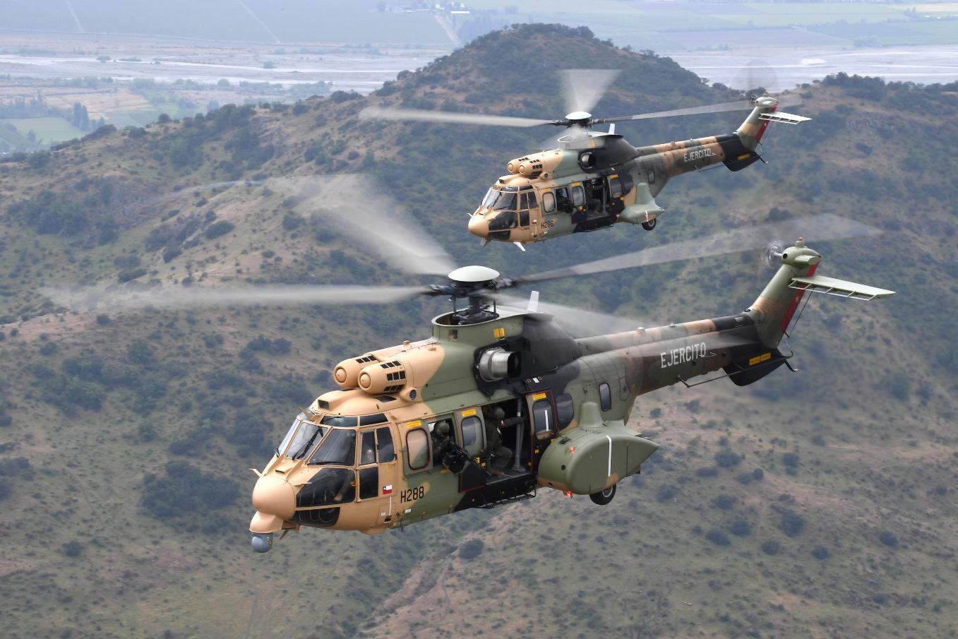 Airbus Helicopters livre le 10ème H215M au Chili