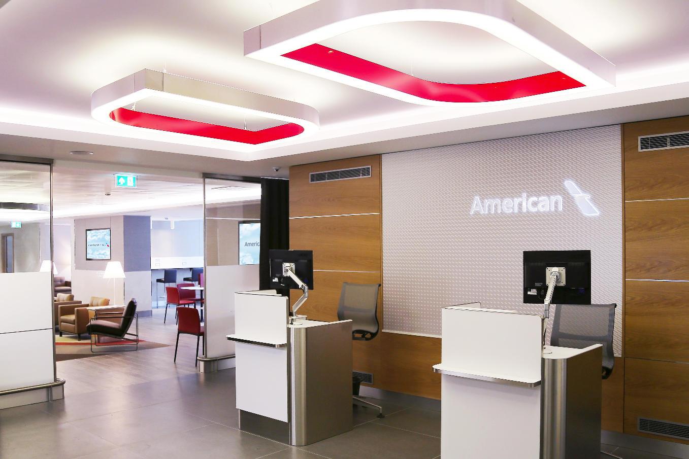 American Airlines dévoile son salon rénové à Londres Heathrow