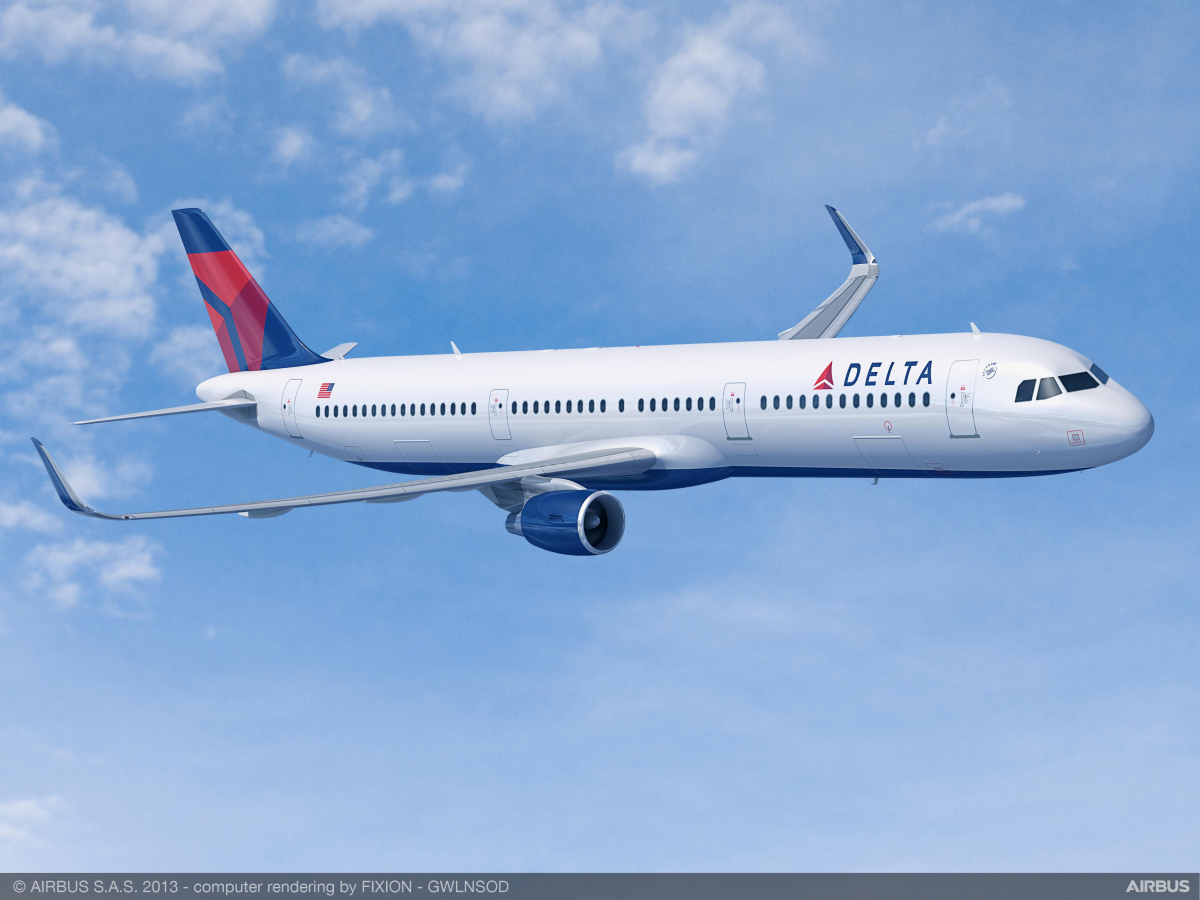 Delta Air Lines commande 25 Airbus A321neo de plus