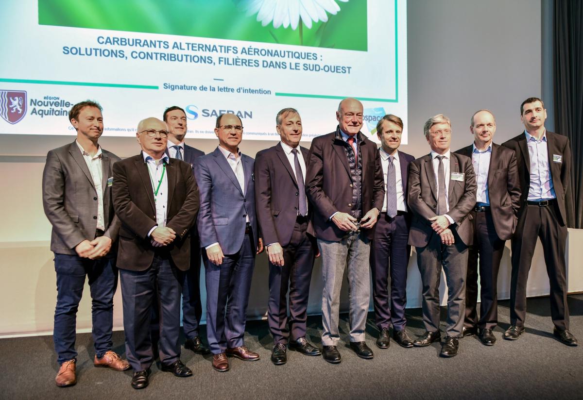 Biocarburants : Safran initie la création d'une filière en Nouvelle-Aquitaine
