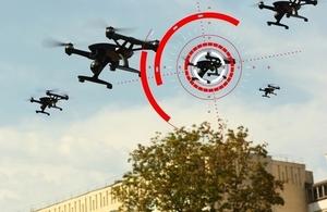 Anti drone: le Royaume-Uni s'appuie sur son tissu industriel