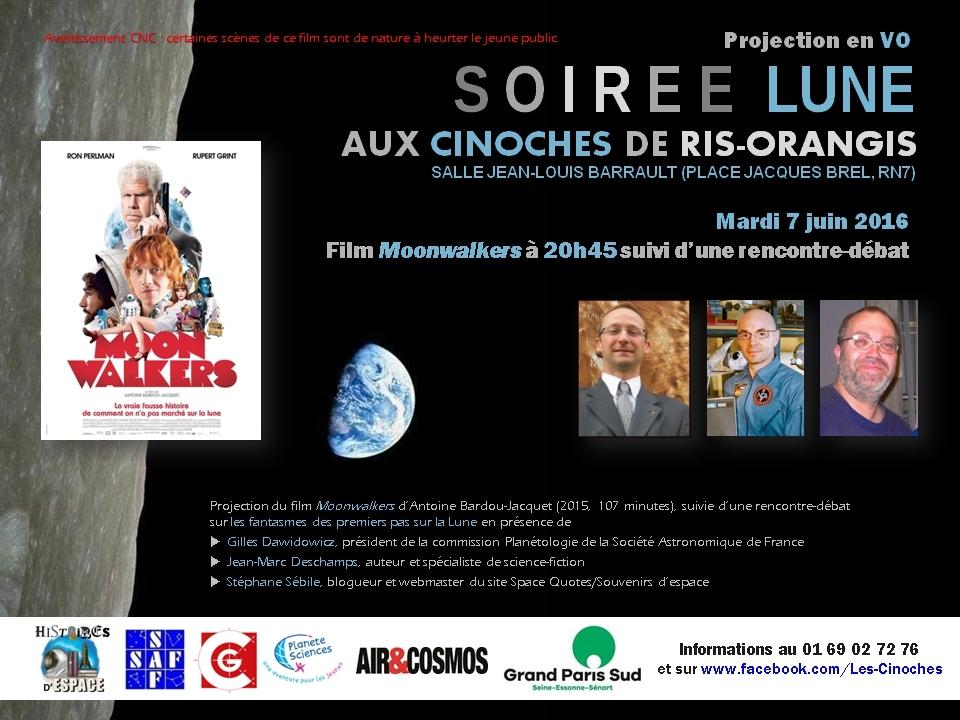 """Ciné-débat """"Moonwalkers"""" mardi 7 juin aux Cinoches de Ris-Orangis"""