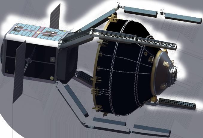 Première mission de nettoyage orbital