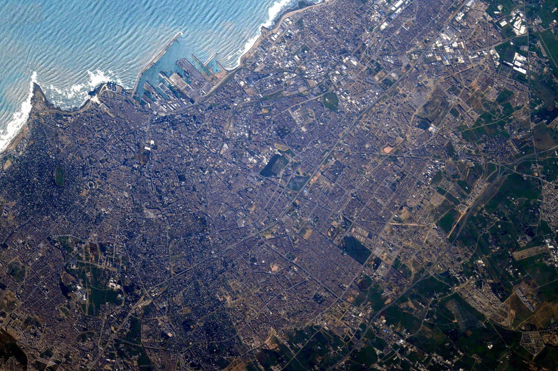 La Terre dans l'oeil de Thomas Pesquet #46 : le Méchouar de Casablanca