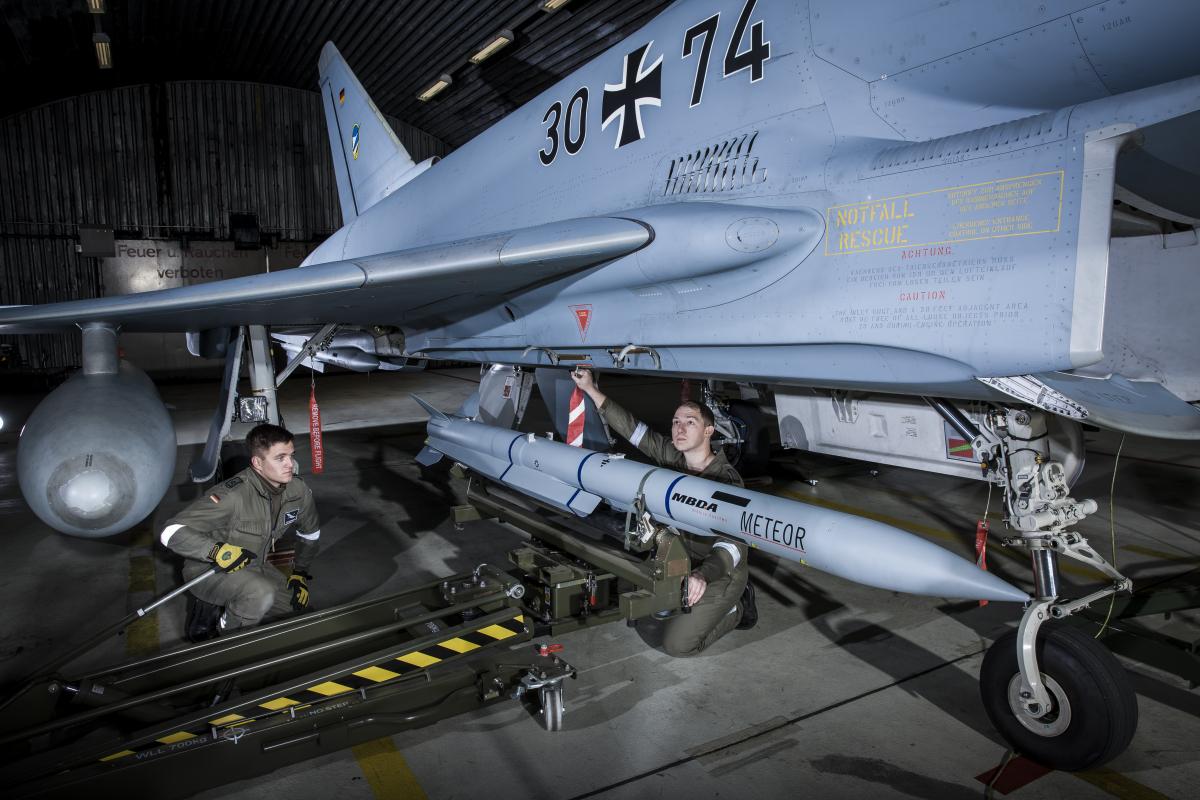 L'Allemagne reprend du missile MBDA Meteor