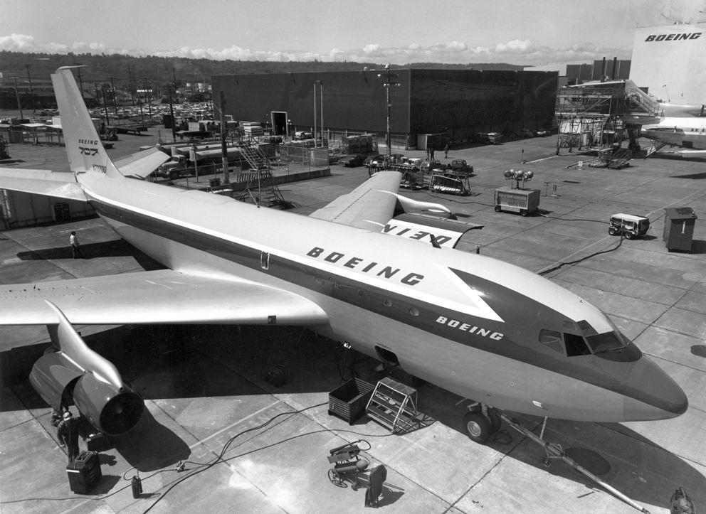 100 ans de Boeing : l'aventure Dash 80