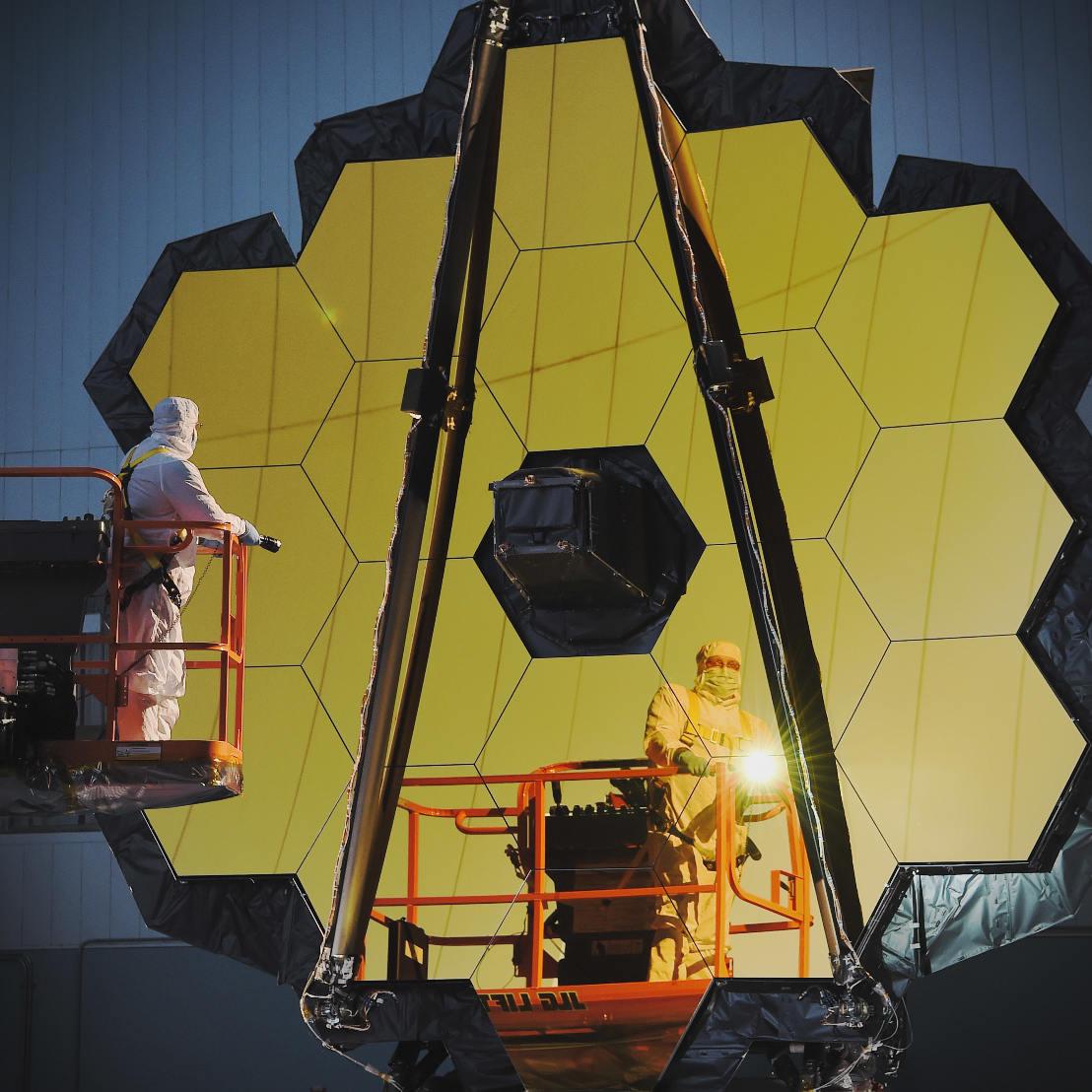 Le James Webb Telescope de la Nasa est prêt