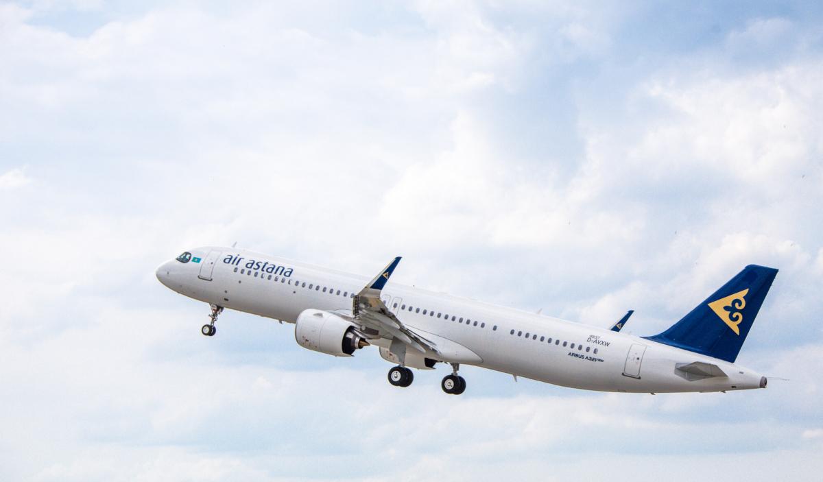Air Astana lance un vol direct Paris-Almaty en Airbus A321LR