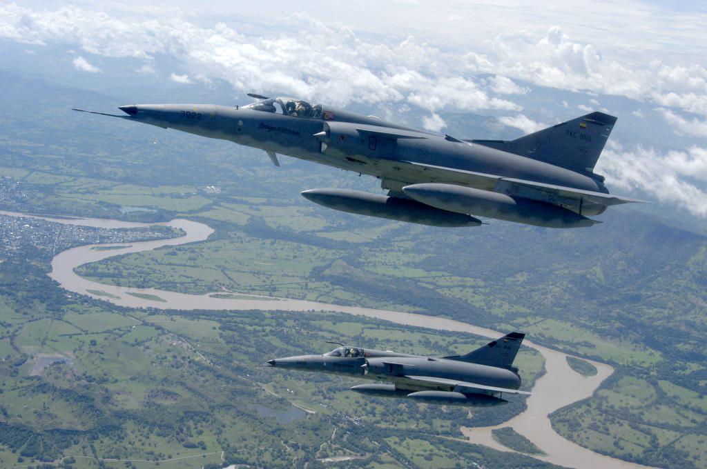 Colombie : Les pilotes de la FAC font la grève du Kfir