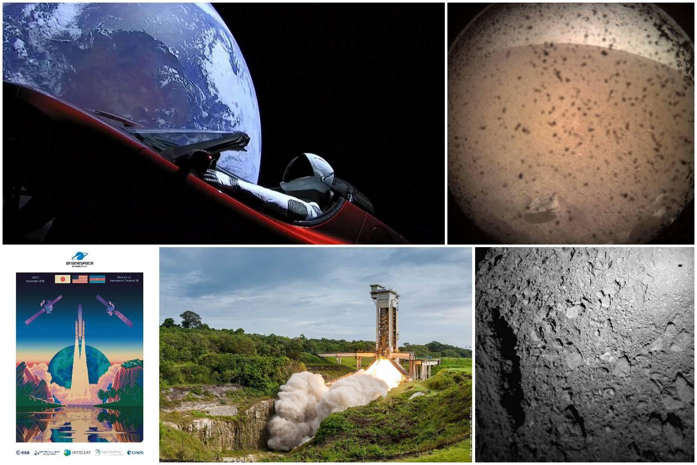 Cinq événements spatiaux qui ont marqué 2018
