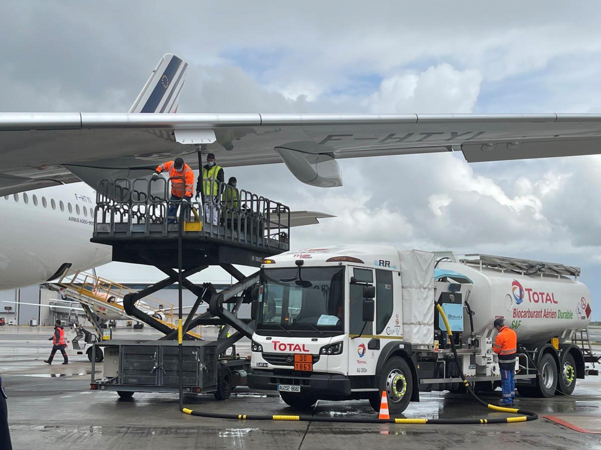 Air France réalise son premier vol long-courrier avec du biocarburant produit en France