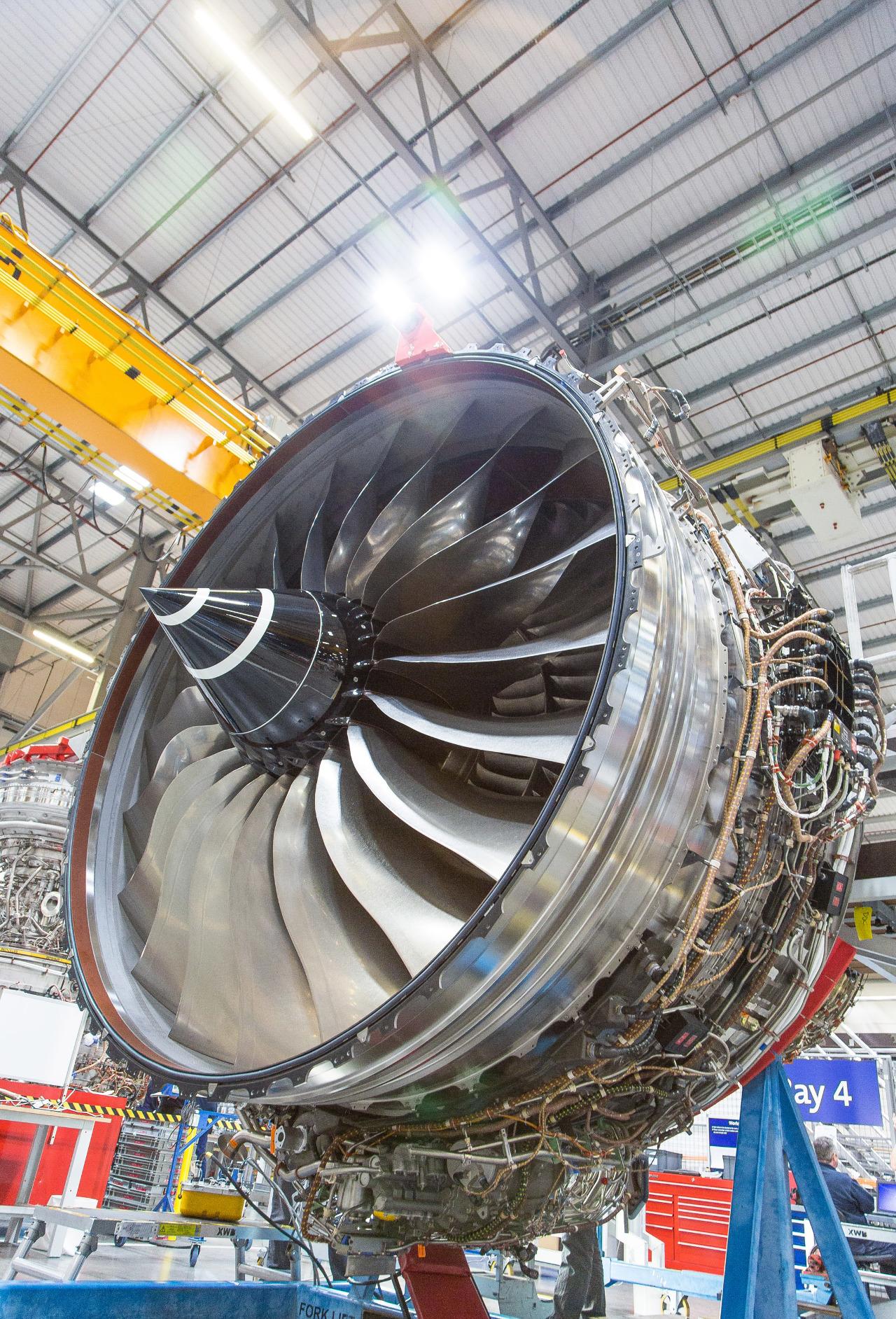 Farnborough 2016 : le Rolls-Royce Trent 1000 Ten certifié AESA