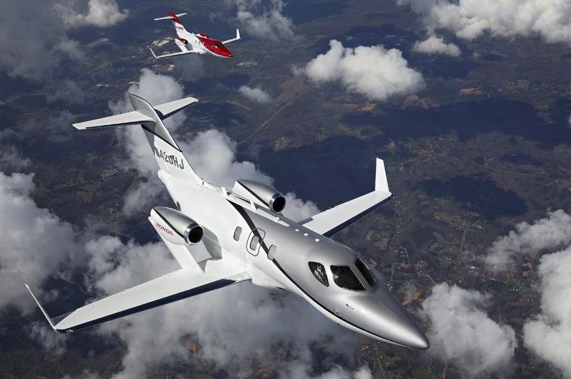 LABACE: Multiple commandes pour HondaJet