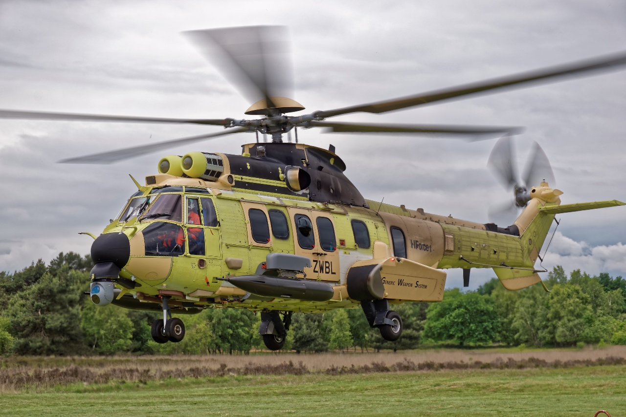 Eurosatory 2016 : Airbus Helicopters teste le système H Force