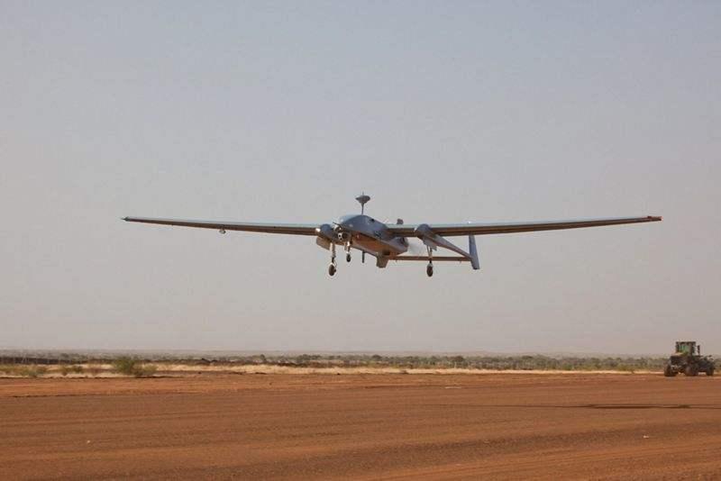 L'Allemagne prolonge la mission du drone Heron en Afghanistan et au Mali