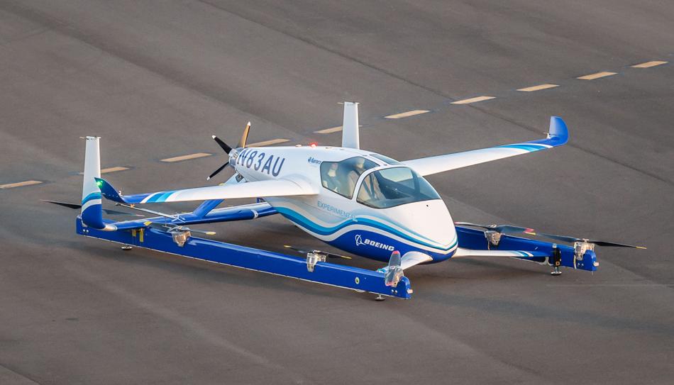 Boeing fait voler son prototype de PAV