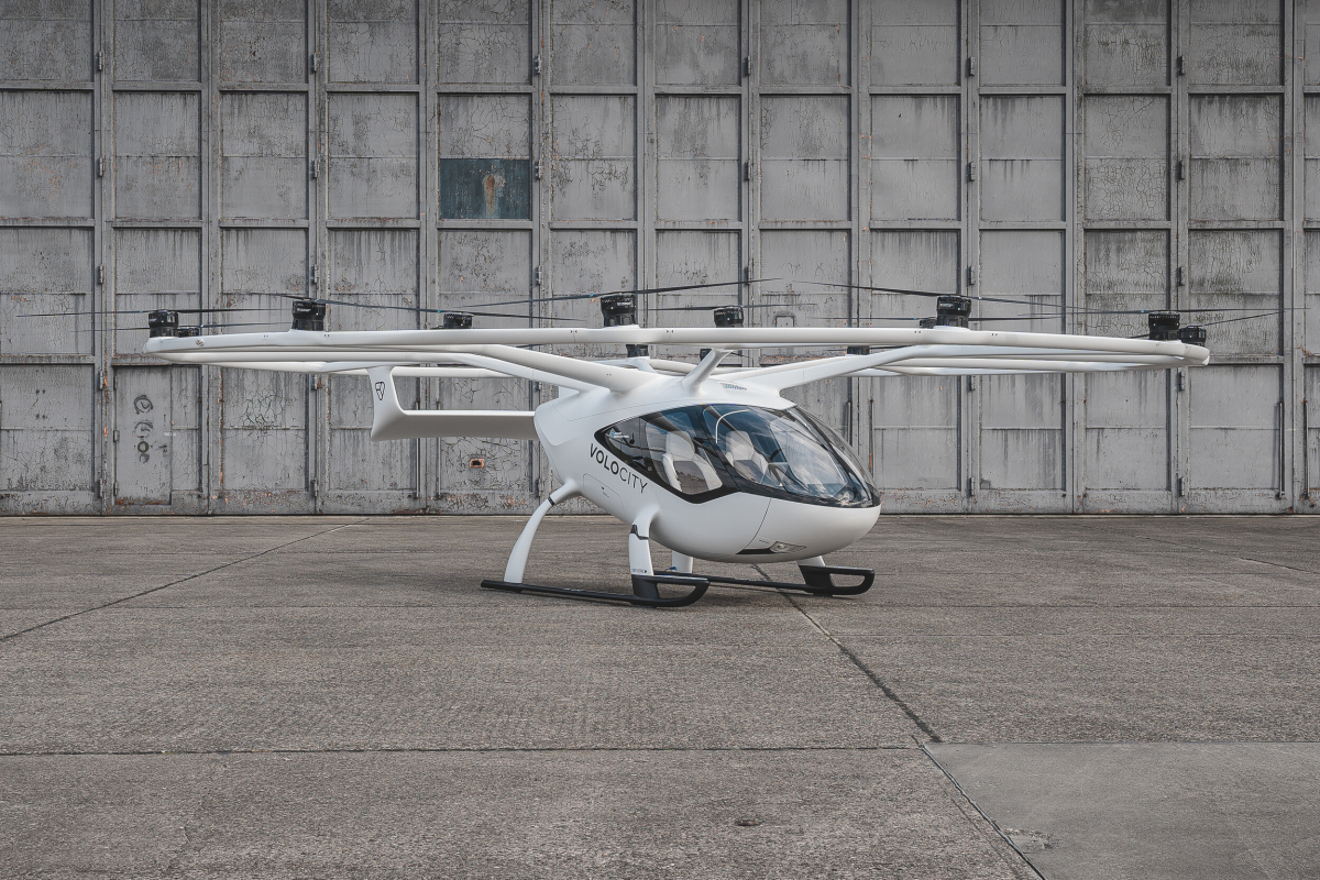 Volocopter et CAE vont former les pilotes d'eVTOL