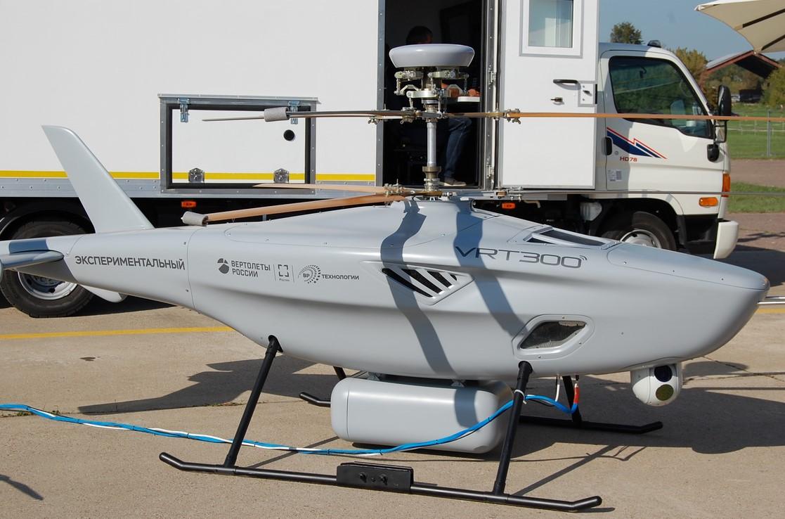 VTOL: Le VRT-300 russe, concurrent du Camcopter S-100 de Schiebel, serait certifié l'année prochaine
