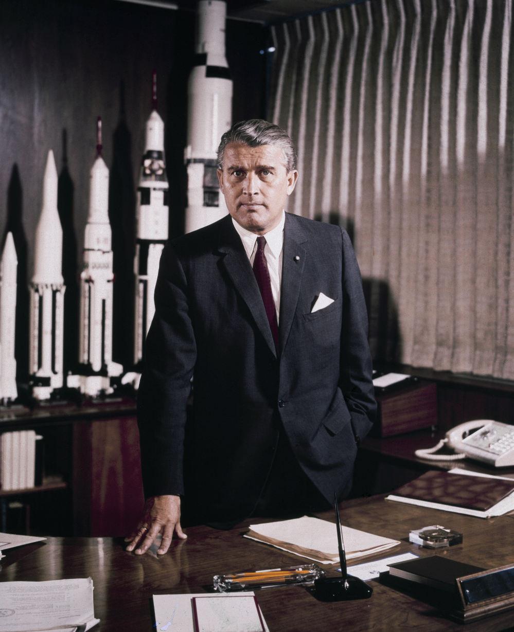 Il y a 40 ans disparaissait Wernher von Braun
