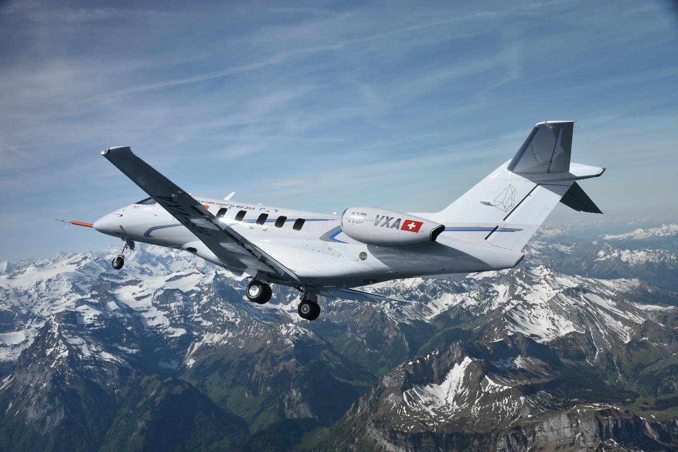 Le troisième PC-24 rejoint les essais en vol