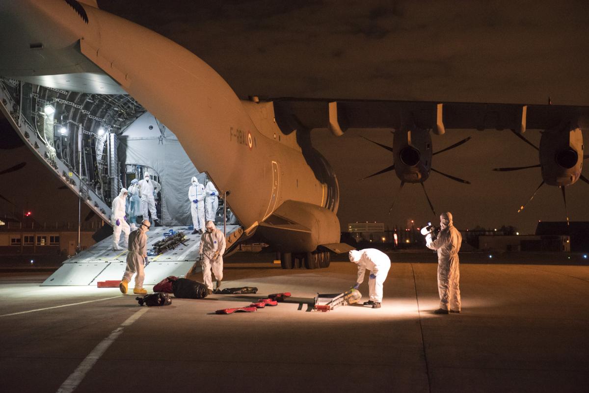 Armée de l'Air : kit de réa sur Airbus A400M Atlas