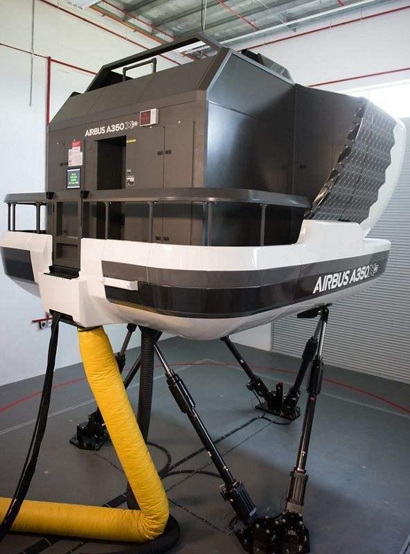 Airbus Asia Training Centre inaugurates third A350 simulator
