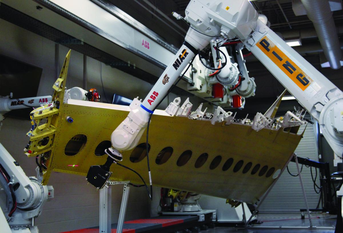 La numérisation automatisée accélère la fabrication aérospatiale