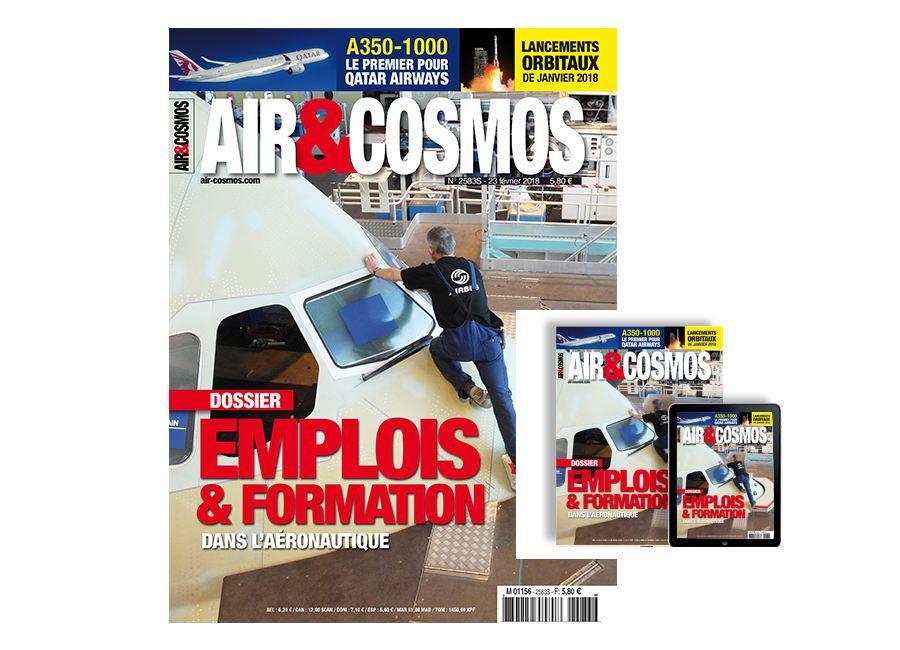 Dossier emplois et formation, et 3 contenus Premium, commandes et livraisons d'aéronefs, satellitier janvier, cette semaine dans AiretCosmos