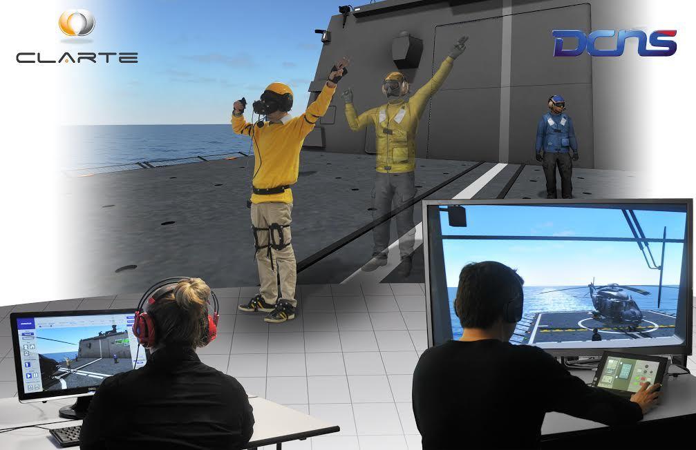 DCNS: Le Naval Helohandling Trainer récompensé