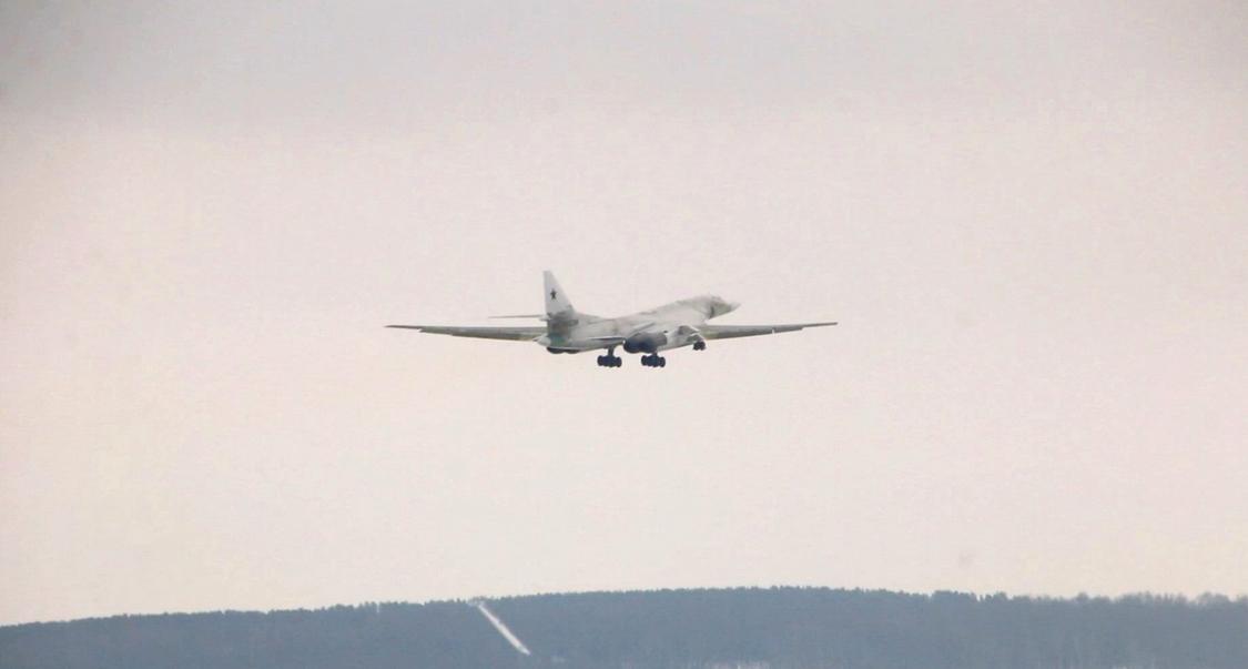 Le premier Tu-160M avec moteurs de série modernisés vole