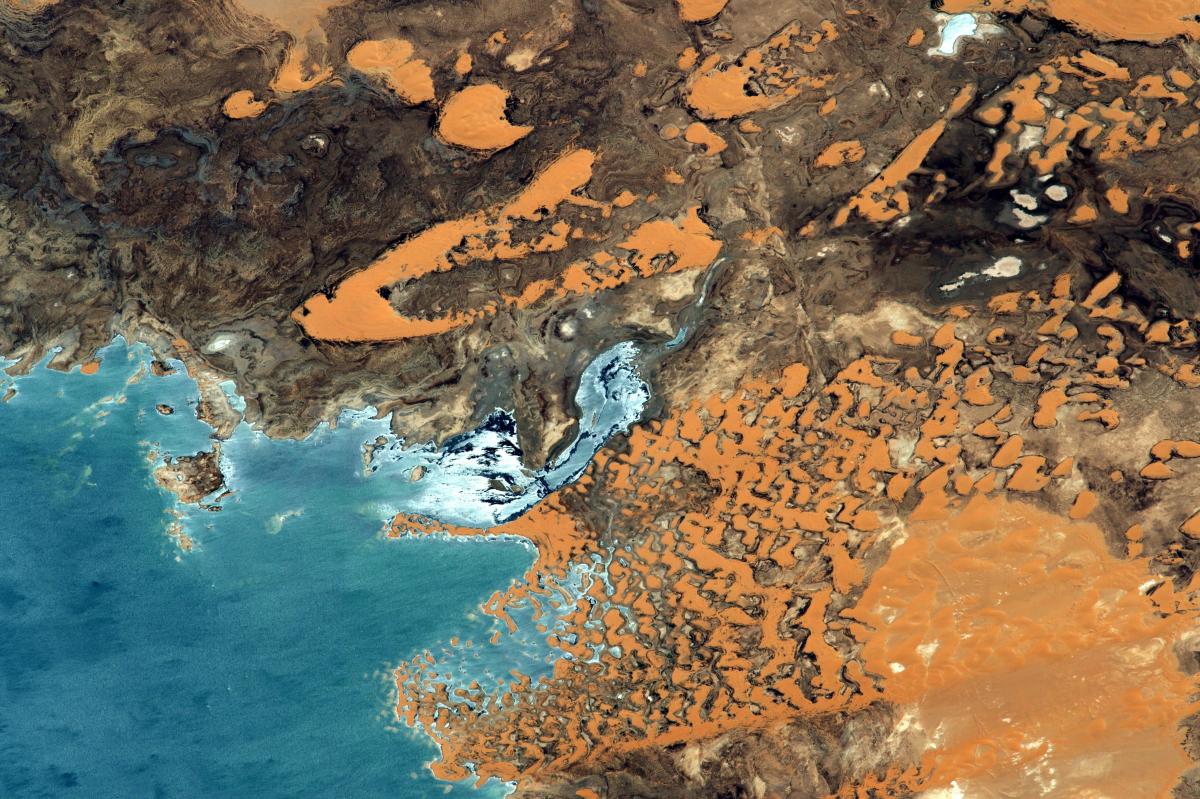 La Terre dans l'œil de Thomas Pesquet, saison 2 : les lacs de Toshka en Egypte