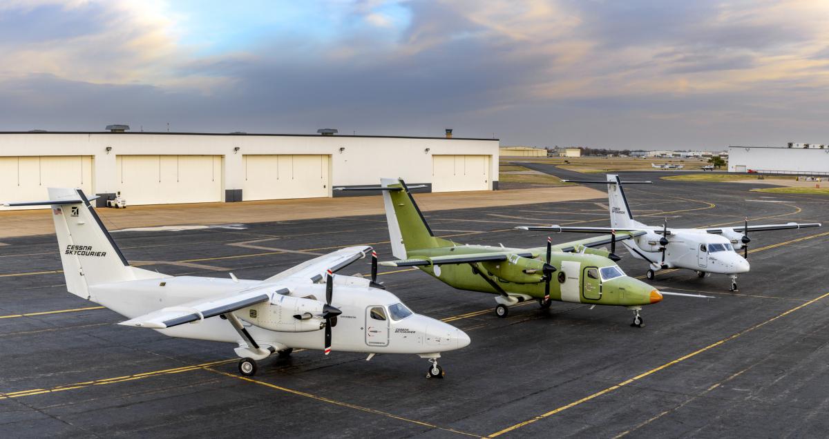Le Cessna SkyCourier est en phase finale de certification
