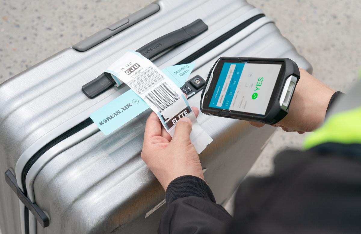 Korean Air généralise son service de notification des bagages