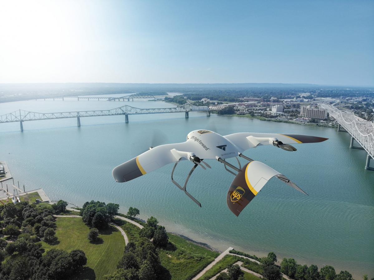 Livraisons par drones: UPS s'associe à Wingcopter